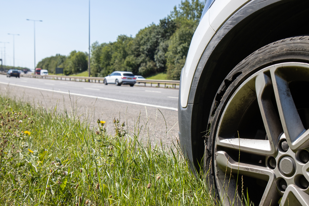 Flat Tire on the Highway? Staying Safe When Your Car Has a Problem